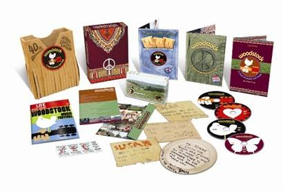 "collector's dvd-edition - 40 Jahre Woodstock: ""3 Days of Peace and Music"""